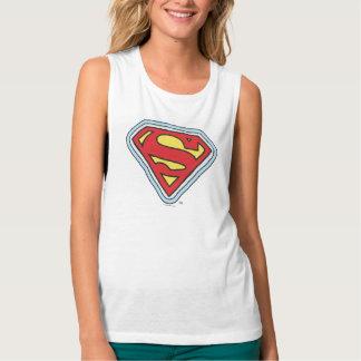 Supergirl Comic Logo Tank Top