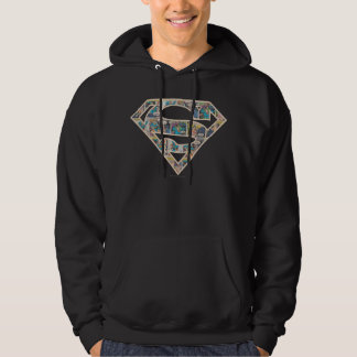 Supergirl Comic Strip Logo Hoodie