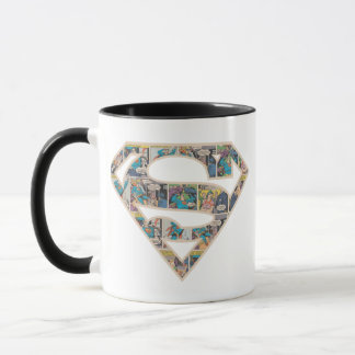 Supergirl Comic Strip Logo Mug