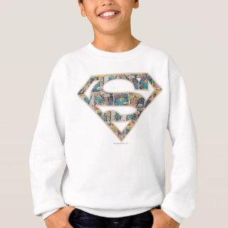 Supergirl Comic Strip Logo Sweatshirt