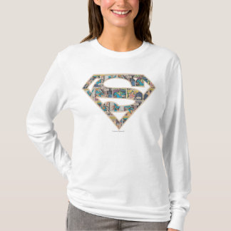 Supergirl Comic Strip Logo T-Shirt
