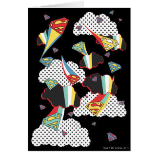 Supergirl Crazy Sky Card