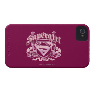 Supergirl Crest Design iPhone 4 Covers