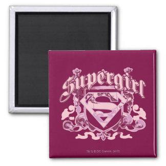 Supergirl Crest Design Magnet