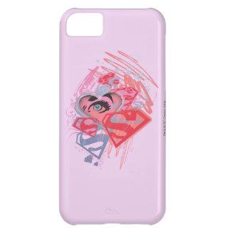 Supergirl Diamonds and Lips iPhone 5C Case