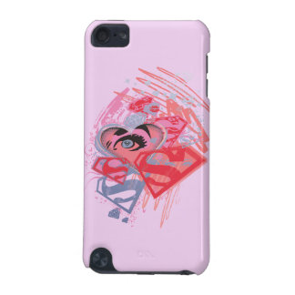 Supergirl Diamonds and Lips iPod Touch (5th Generation) Case
