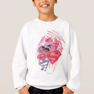 Supergirl Diamonds and Lips Sweatshirt