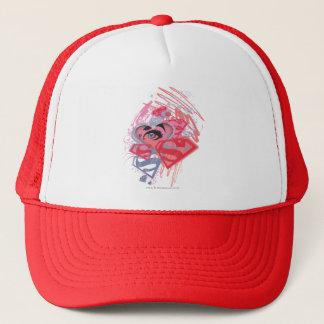 Supergirl Diamonds and Lips Trucker Hat