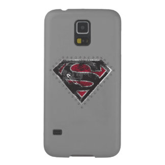 Supergirl Distressed Logo Black and Red Galaxy S5 Cover
