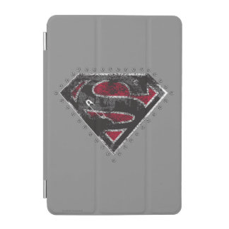 Supergirl Distressed Logo Black and Red iPad Mini Cover