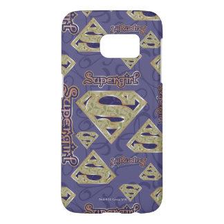 Supergirl Fancy Logo Collage