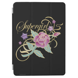 Supergirl Fancy Roses iPad Air Cover
