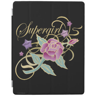 Supergirl Fancy Roses iPad Cover