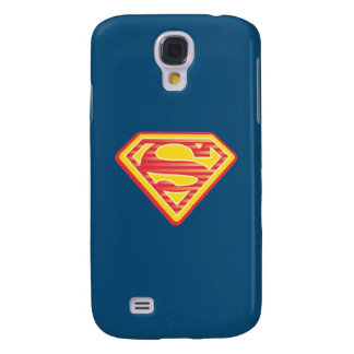 Supergirl Far-Out Logo Galaxy S4 Case