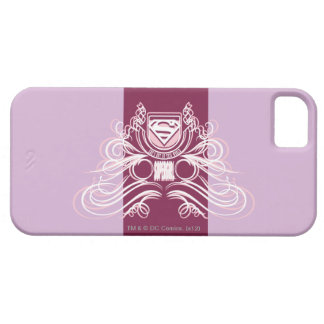 Supergirl Flourish Design Case For The iPhone 5