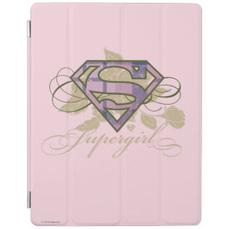 Supergirl Flowers iPad Cover