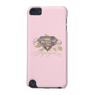 Supergirl Flowers iPod Touch (5th Generation) Cases