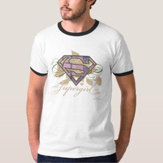 Supergirl Flowers T-Shirt
