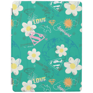 Supergirl for Peace Pattern iPad Cover