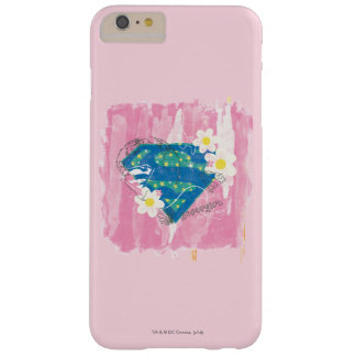 Supergirl for Peace Pink Barely There iPhone 6 Plus Case