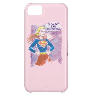 Supergirl Galaxy iPhone 5C Case