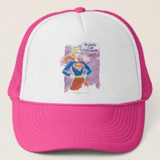 Supergirl Galaxy Trucker Hat