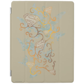 Supergirl Gold and Brown iPad Cover