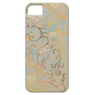 Supergirl Gold and Brown iPhone 5 Case