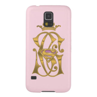 Supergirl Gold Crown Case For Galaxy S5