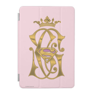 Supergirl Gold Crown iPad Mini Cover