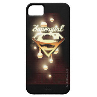 Supergirl Gold Drips Barely There iPhone 5 Case