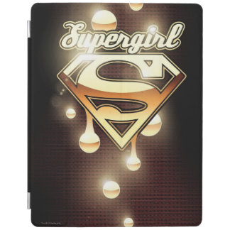 Supergirl Gold Drips iPad Cover