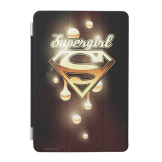 Supergirl Gold Drips iPad Mini Cover