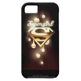 Supergirl Gold Drips iPhone 5 Case