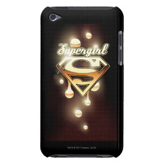 Supergirl Gold Drips iPod Touch Case-Mate Case