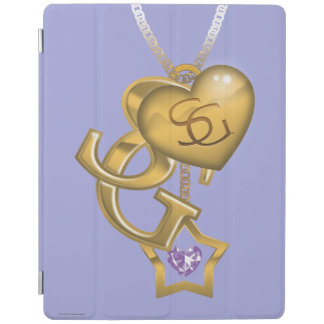 Supergirl Gold Locket iPad Cover