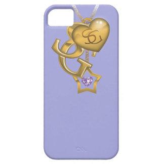 Supergirl Gold Locket iPhone 5 Case