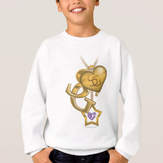 Supergirl Gold Locket Sweatshirt