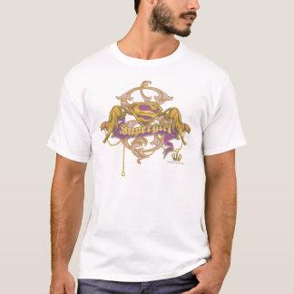 Supergirl Golden Cat 2 T-Shirt