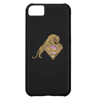 Supergirl Golden Cat iPhone 5C Case
