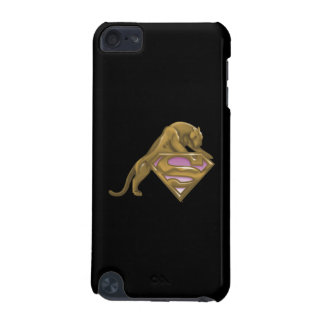 Supergirl Golden Cat iPod Touch (5th Generation) Cover