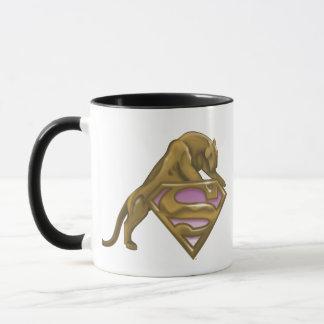 Supergirl Golden Cat Mug