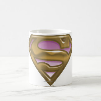 Supergirl Golden Logo Coffee Mug