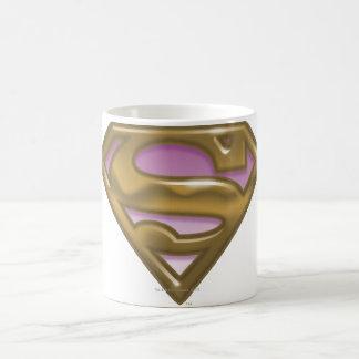 Supergirl Golden Logo Coffee Mug