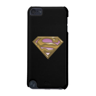 Supergirl Golden Logo iPod Touch 5G Cover