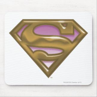 Supergirl Golden Logo Mouse Mat