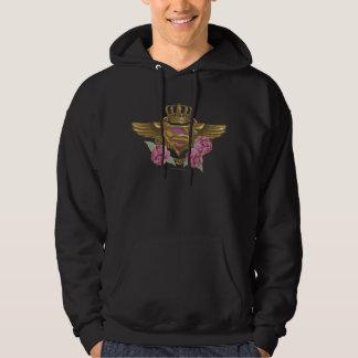 Supergirl Golden Wings Hoodie