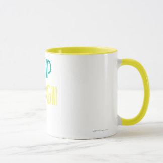 Supergirl Green and Yellow Mug