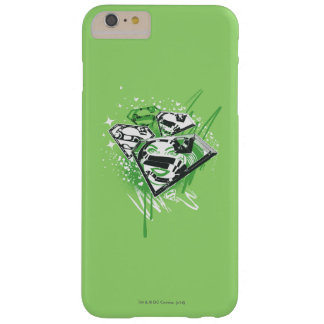 Supergirl Green Spills Barely There iPhone 6 Plus Case