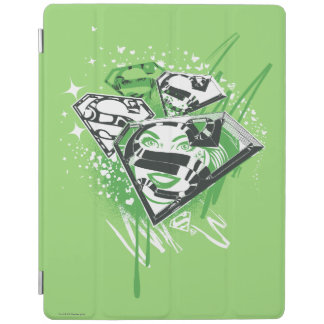 Supergirl Green Spills iPad Cover